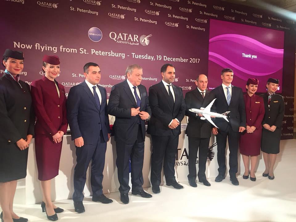 Qatar Airways ВЕЗДЕ! В Санкт-Петербург ежедневно.