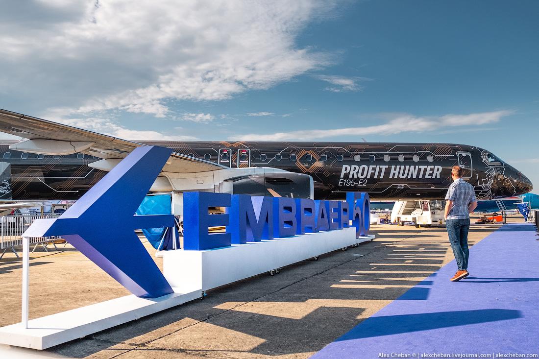 БРАЗИЛЬСКИЙ ТЕХНОЛЬВЕНОК: Embraer E190-E2
