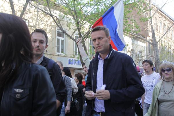 Навальный в Астрахани 14 апреля 2012 года