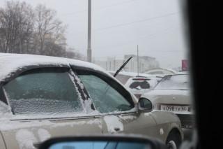 Снегопад в Екатеринбурге