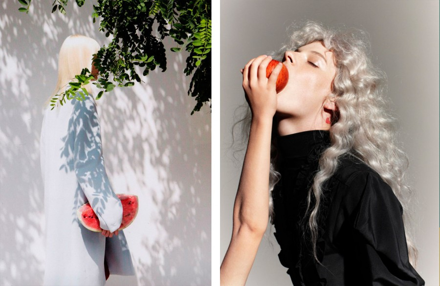 Тренд Внезапный цвет, тенденция в арт-фотографии