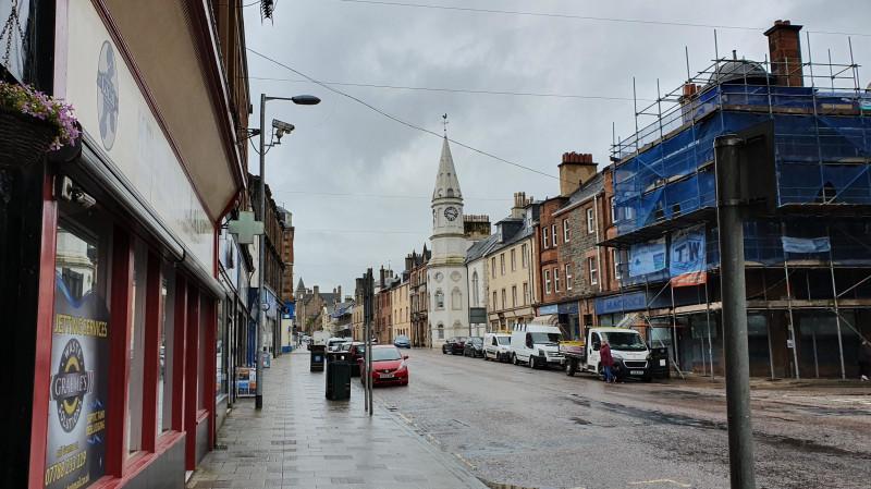Главная улица Кэмпбелтауна называется просто – Main Street (Главная улица)