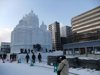 дрезденская церковь в исполнении японских мастеров