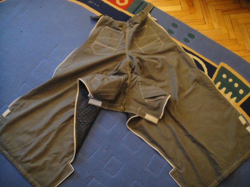 крой зимних брюк