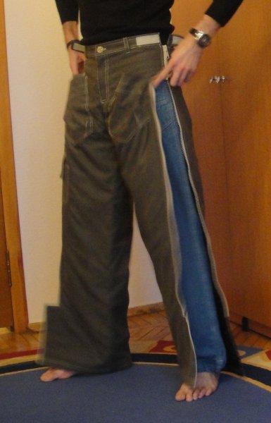 как сшить зимние брюки