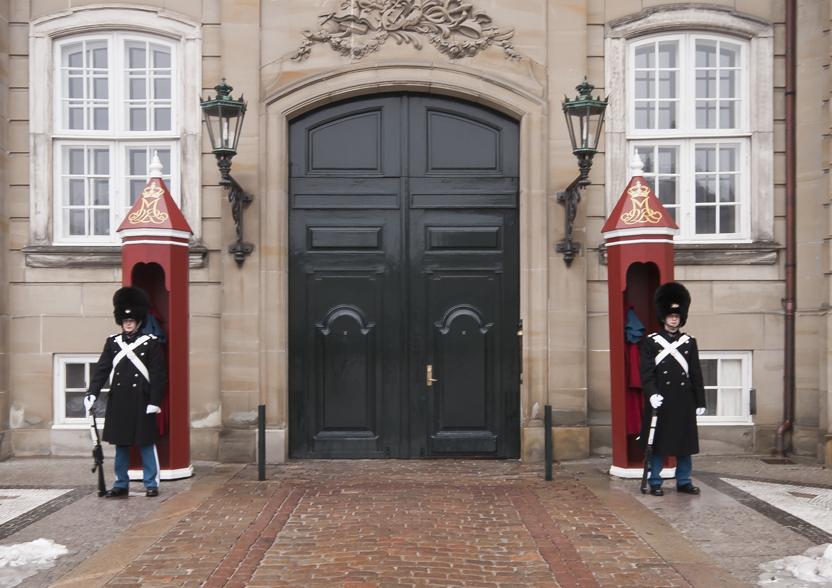 Постовые в Копенгагене