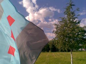 Флаг ПВЦС на фоне великой России.png