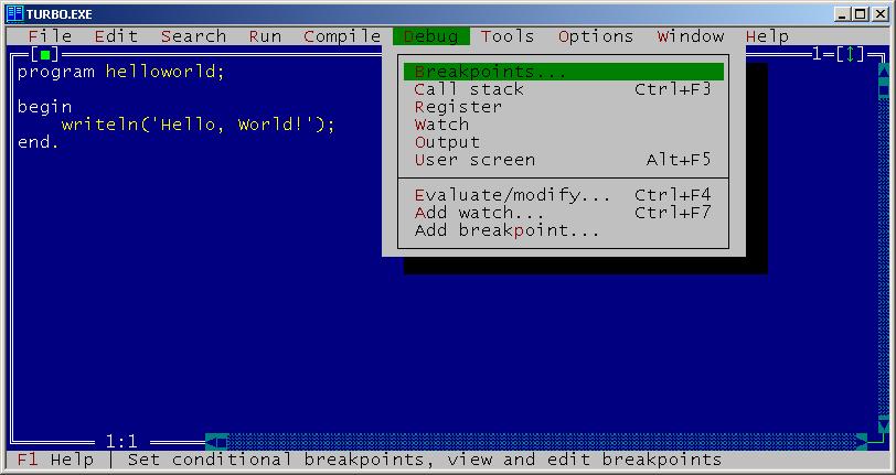 Yurbo septiembre de 2006, borland lanzo una version recortada del c++builder para windows