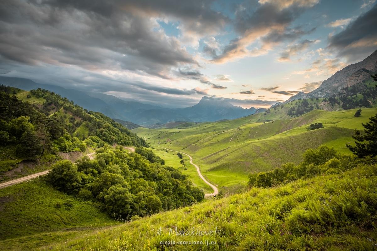Кавказ, Россия, горы