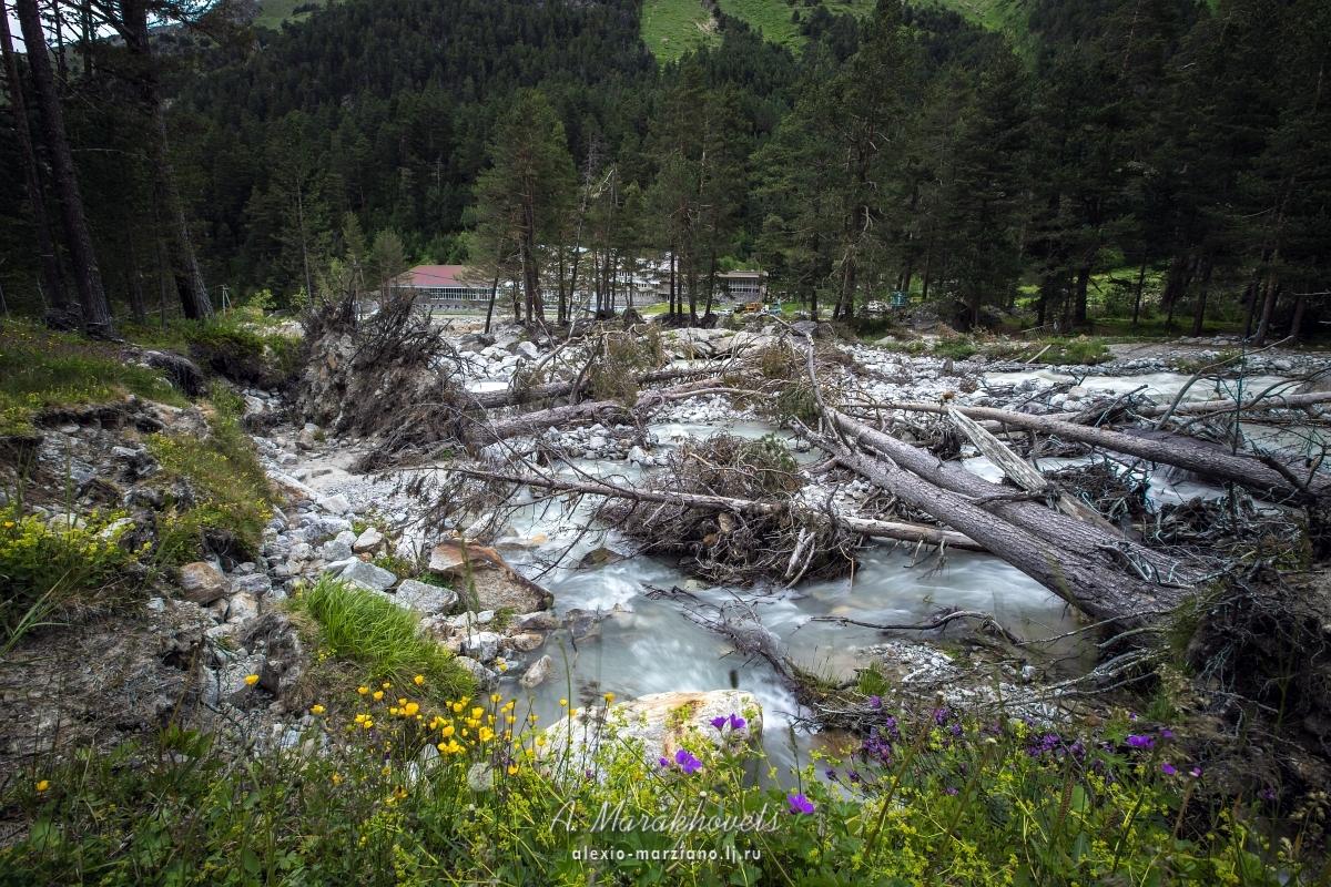 Адылсу, Кавказ, ущелье, Башкара