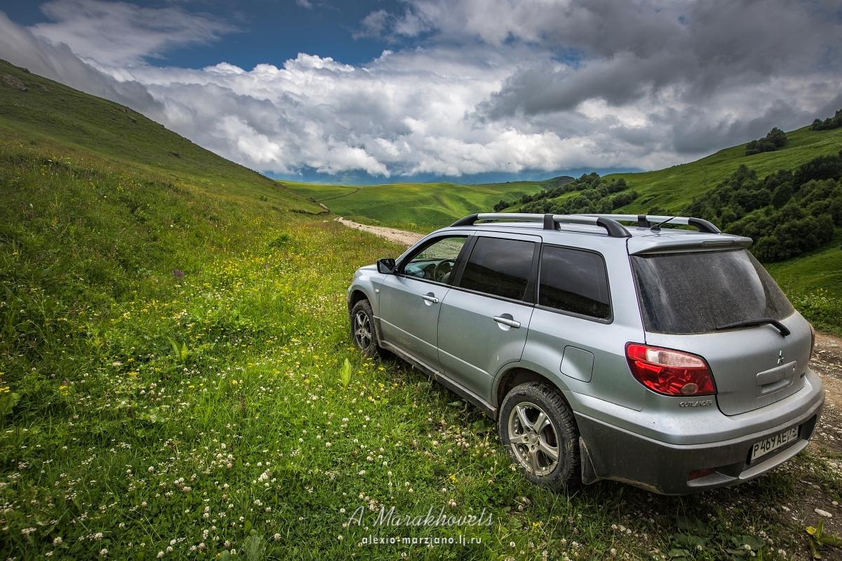 Перевал Актопрак, Кавказ