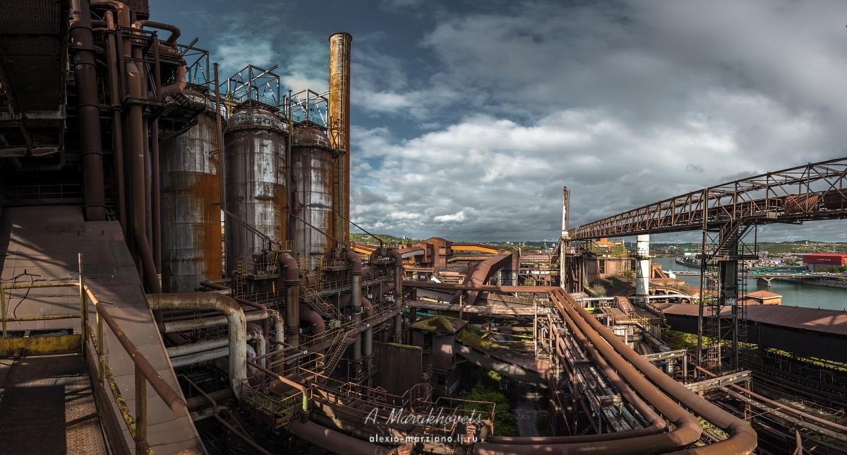 металлургический, комбинат, Бельгия, Льеж, заброшенный, abandoned, Belgium, Liege, iron, steel, urbex