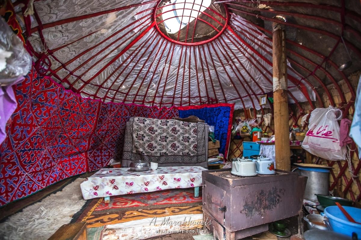юрта, Киргизия, Кыргызстан, чай, Иссык-Куль
