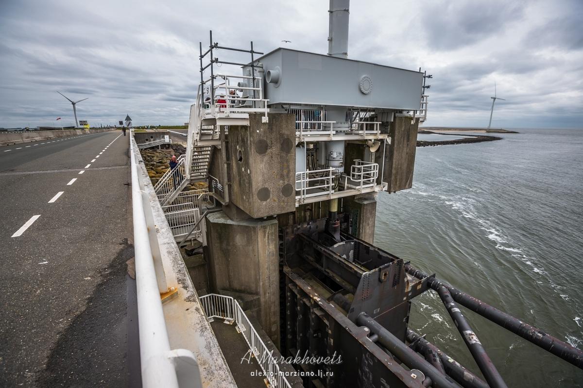 Delta Works, дамба, Голландия, Нидерланды, dam