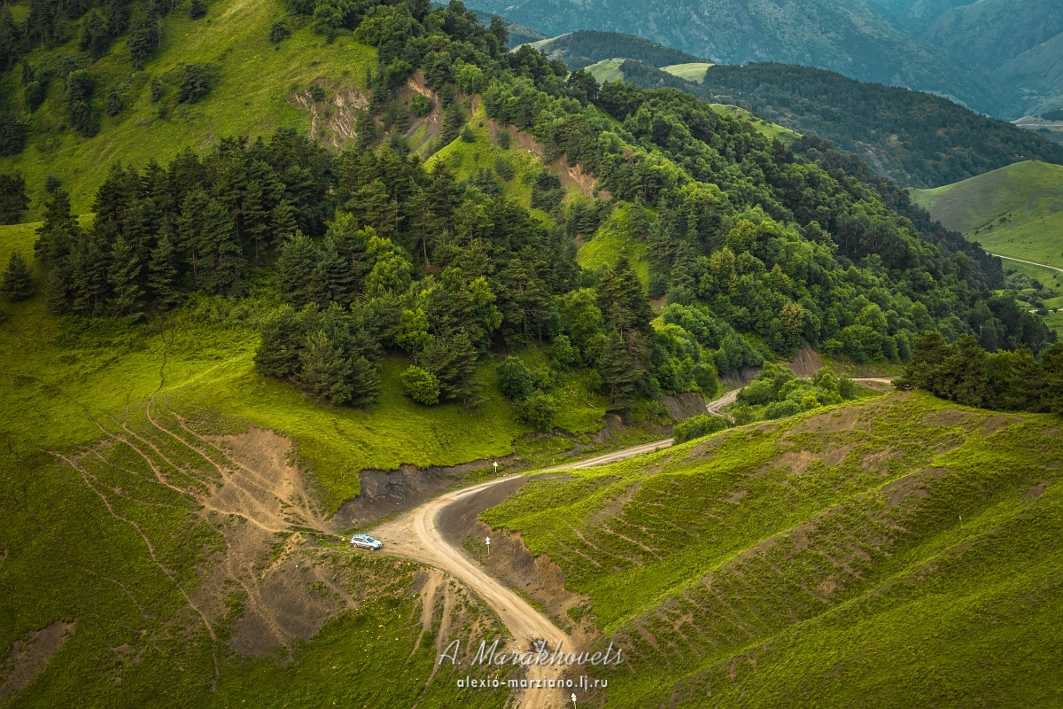 Ингушетия, Эрзи, Кавказ, башни