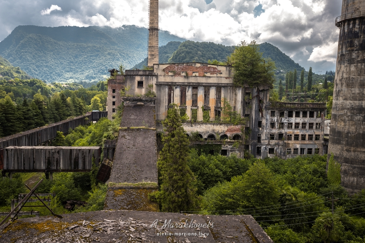 Ткварчельская, грэс, Ткуарчал, Абхазия, abandoned, Ткварчели, Tkvarchal, Abjasia