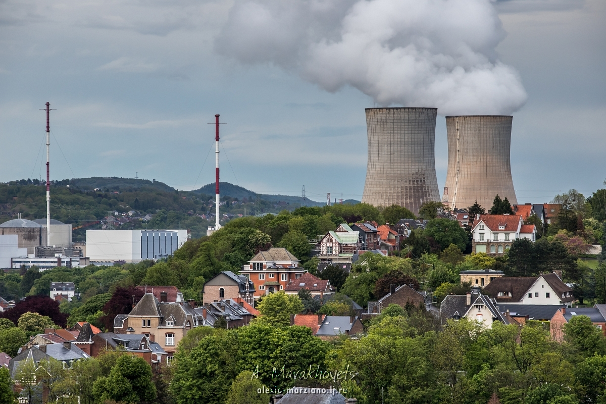 Бельгия, Belgium, Doel, Nuclear Power Station, Tihange, Тианж, Дул, АЭС