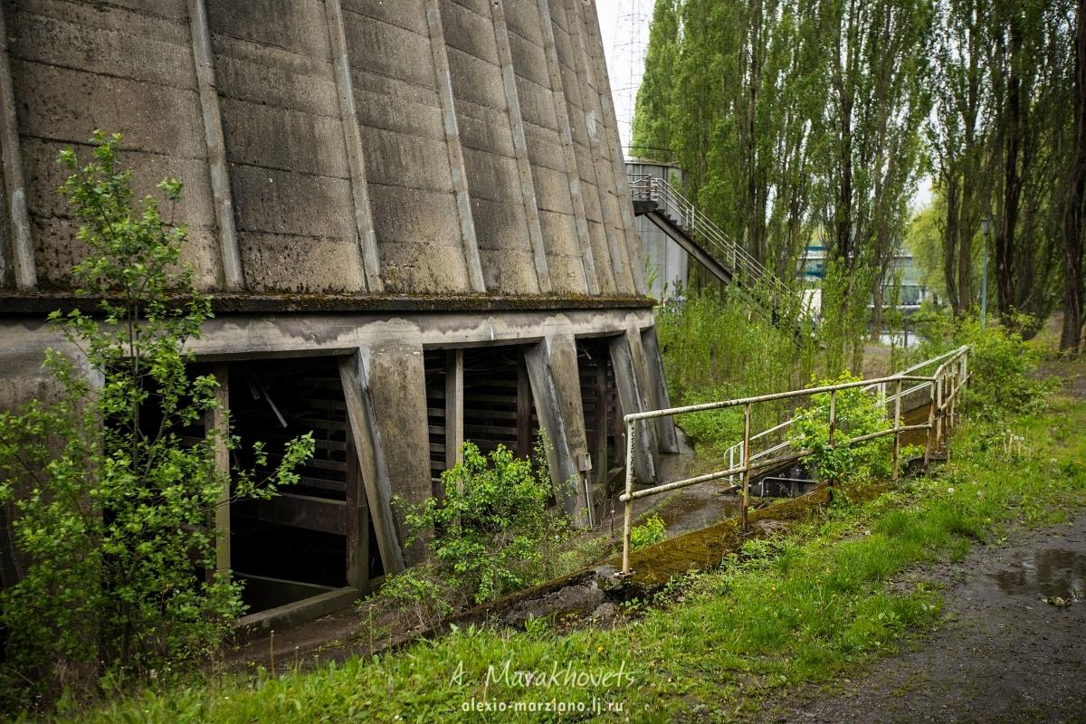 Градирня, Бельгия, Cooling station, Belgium