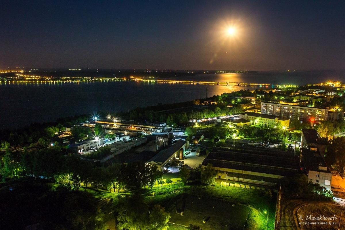 фото ночной ульяновск время бесконечная