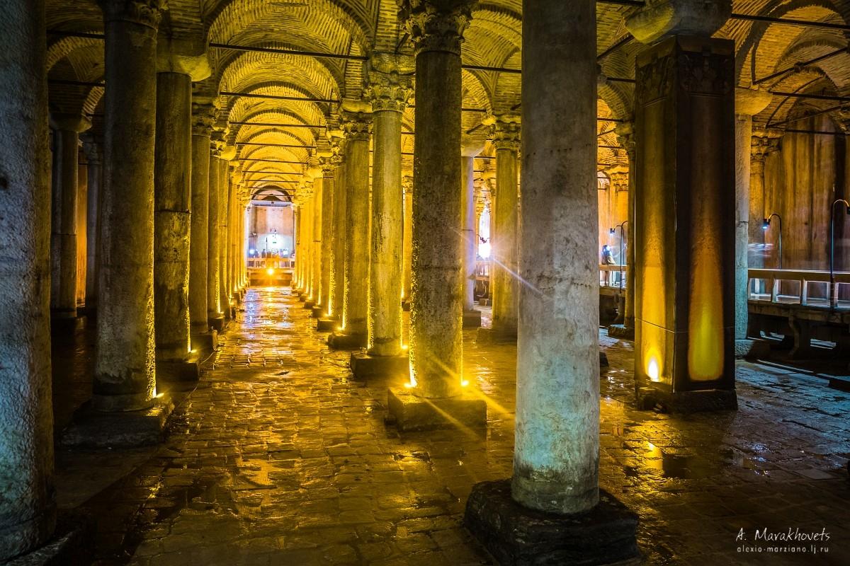 Стамбул, цистерны, Базилика