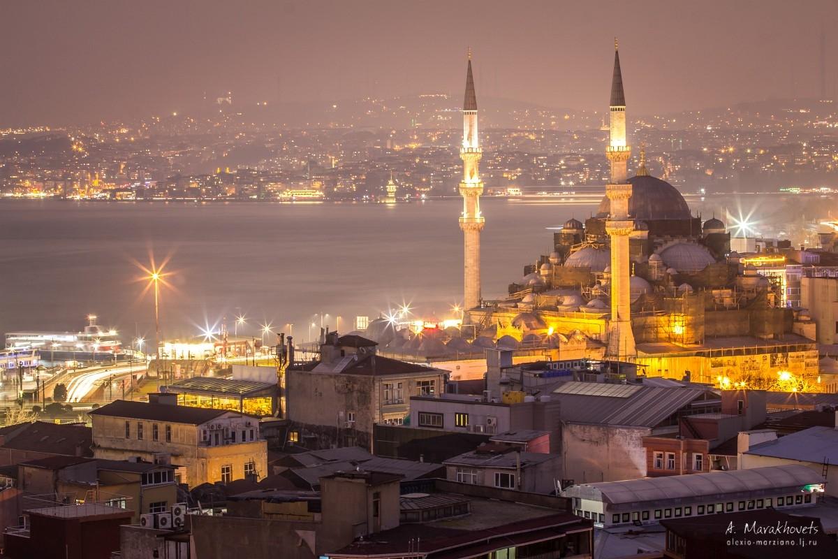 Стамбул, Турция, Evening Istanbul