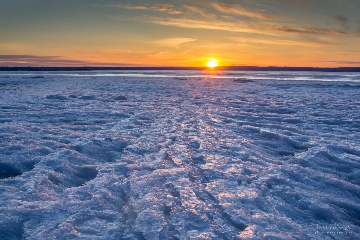 Волжский лёд