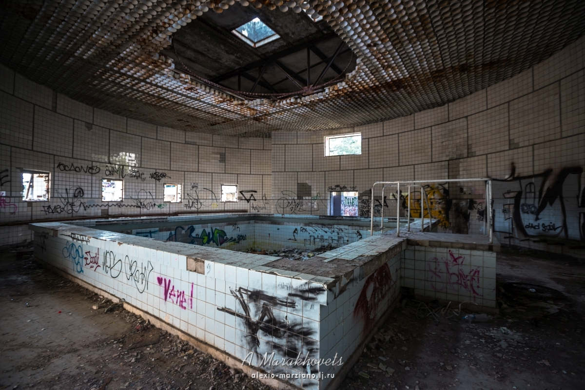кисловодск, бассейн, заброшка