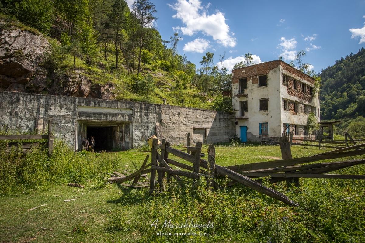 эльбрусский, заброшенный, посёлок, рудник, abandoned, urbex, caucasus, кавказ