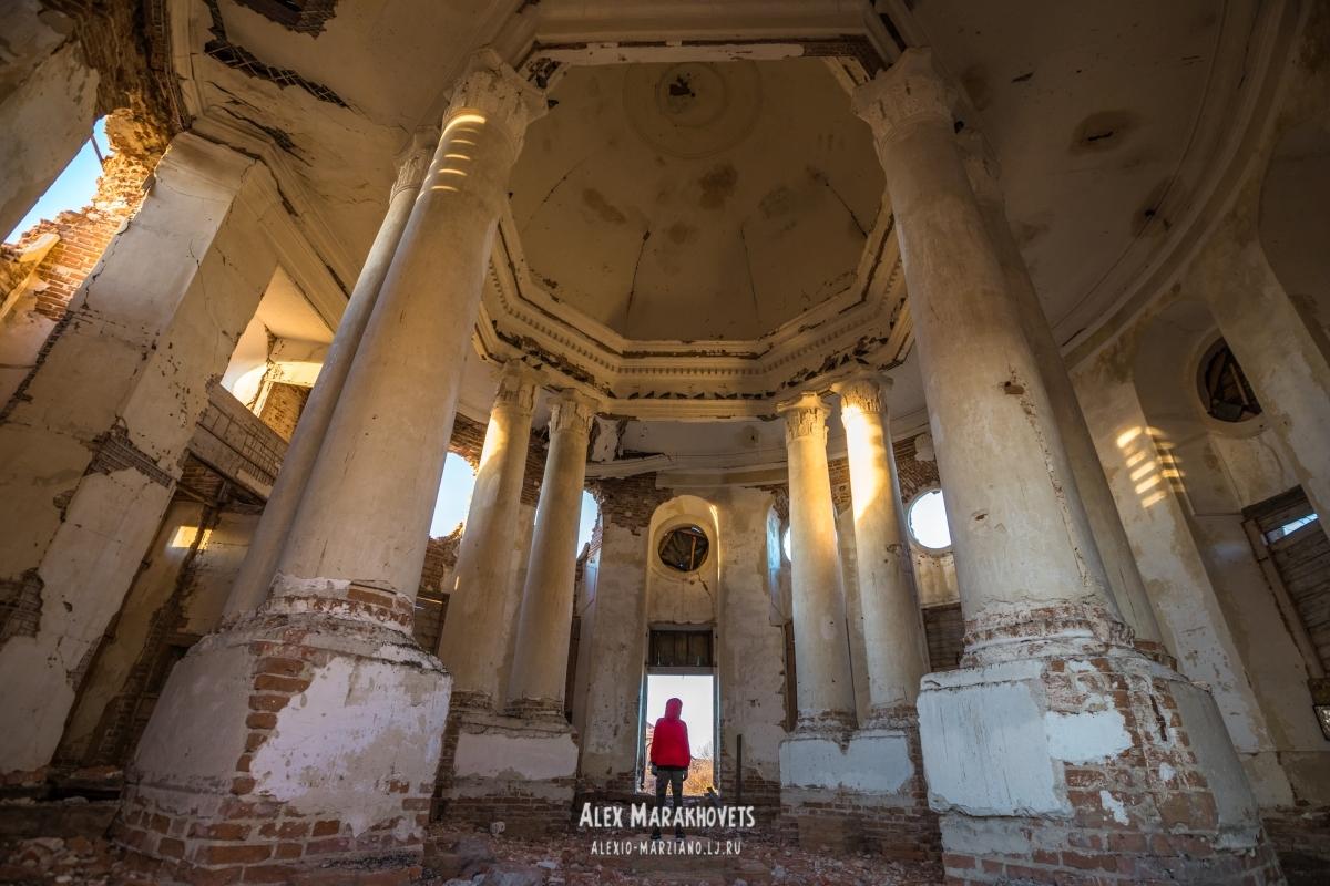храм, ротонда, смольково, ульяновская, масоны