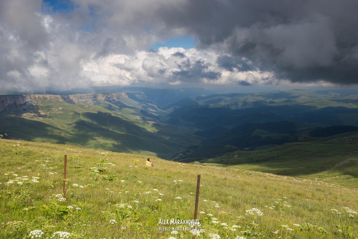 бермамыт, дорога, плато, кчр, кавказ