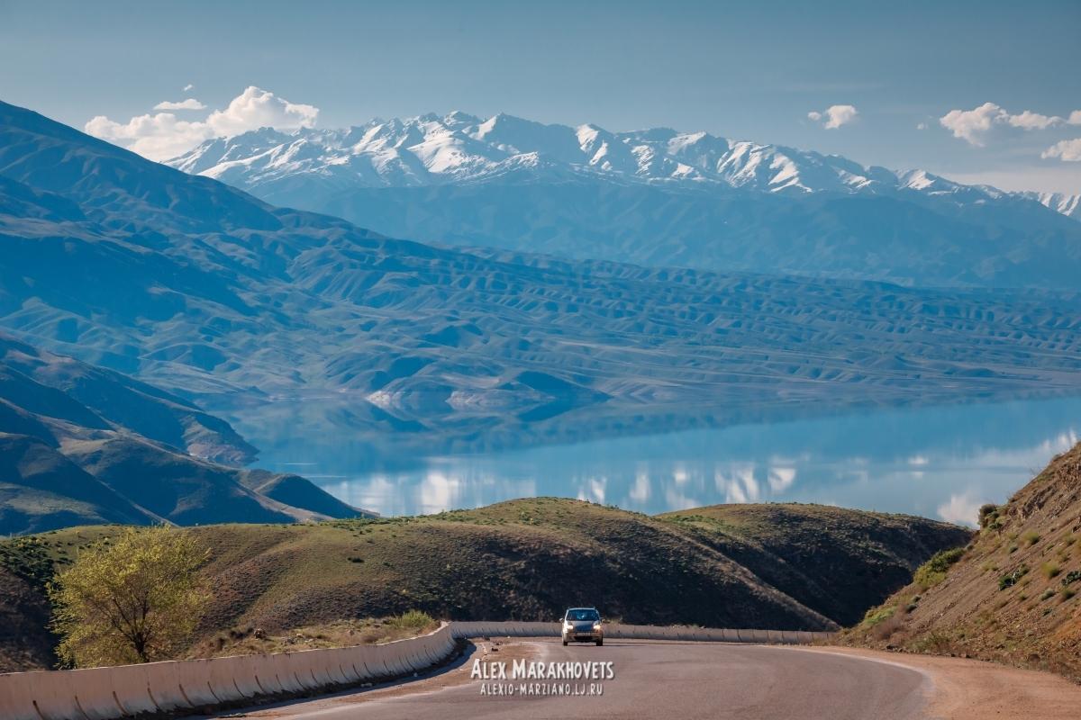 киргизия, токтогул, памирский, тракт, памир