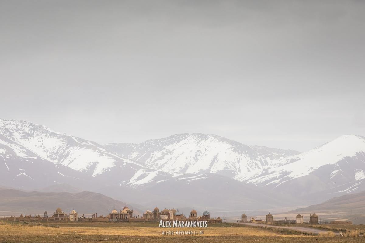 иссык-куль, киргизия, тянь-шань