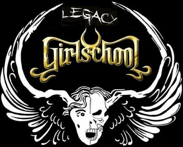 """Один из логотипов альбома Girlschool """"Legacy"""", 2008 г."""