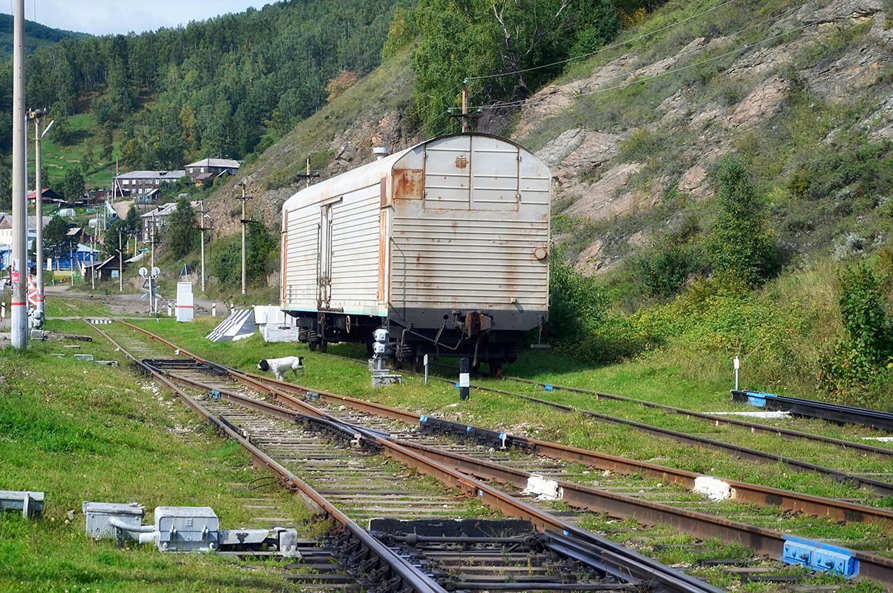 Восточная горловина ст. Порт Байкал