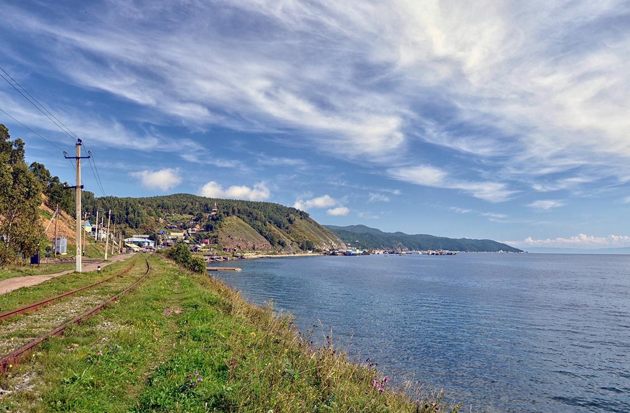 Вид на Порт Байкал