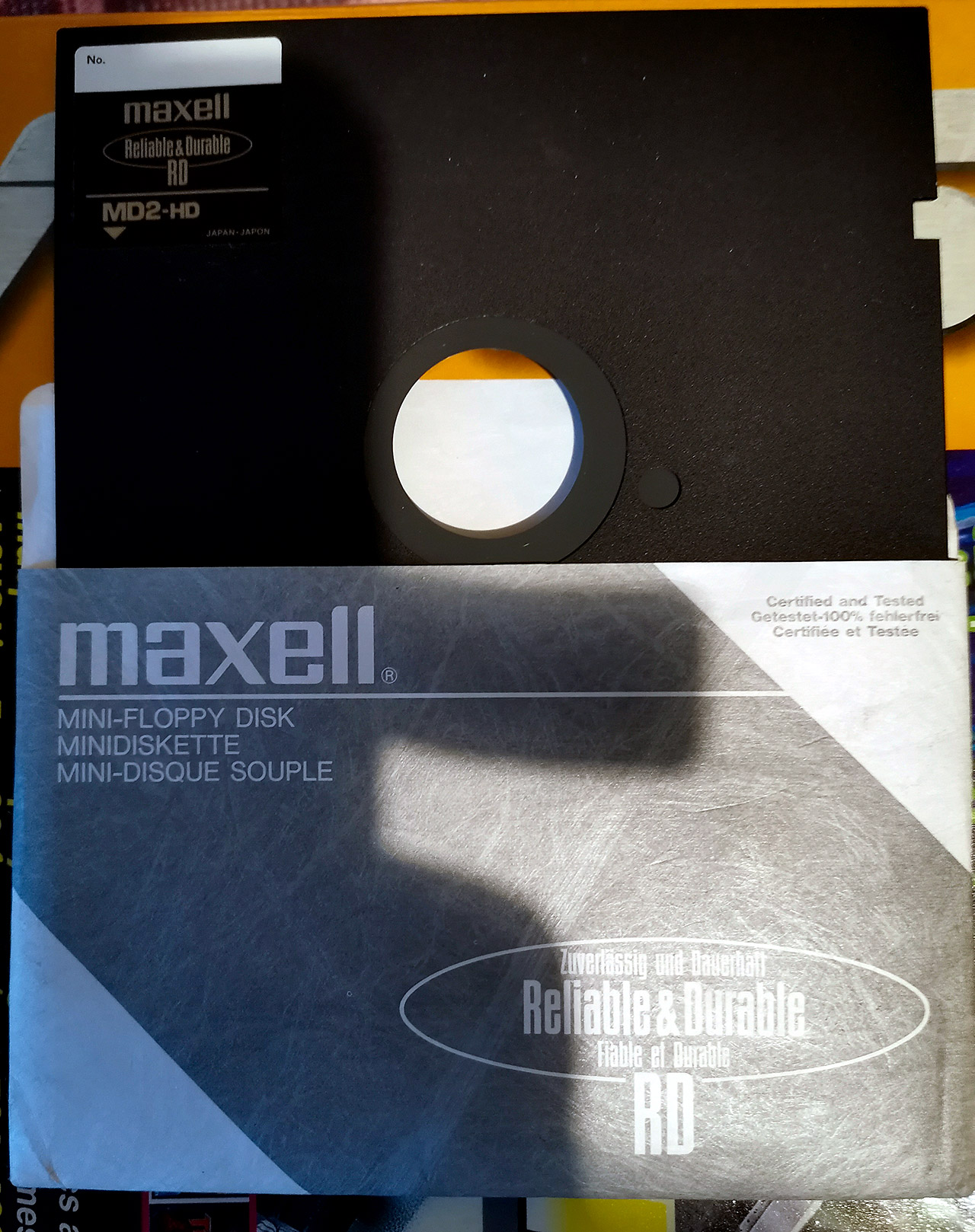 """Maxell 5.25"""" DS/HD"""