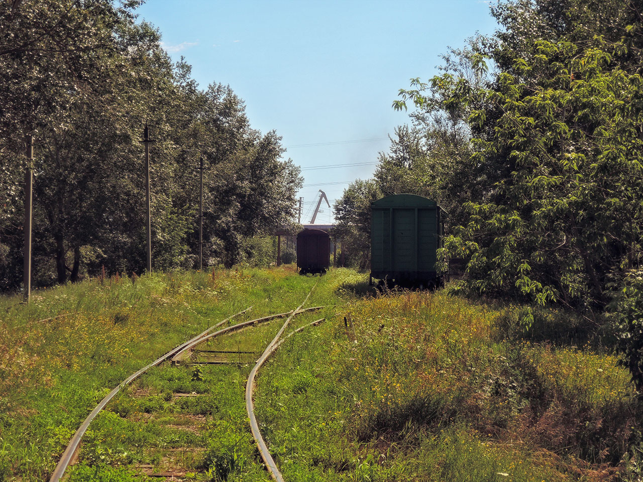 Станция - вид на восток