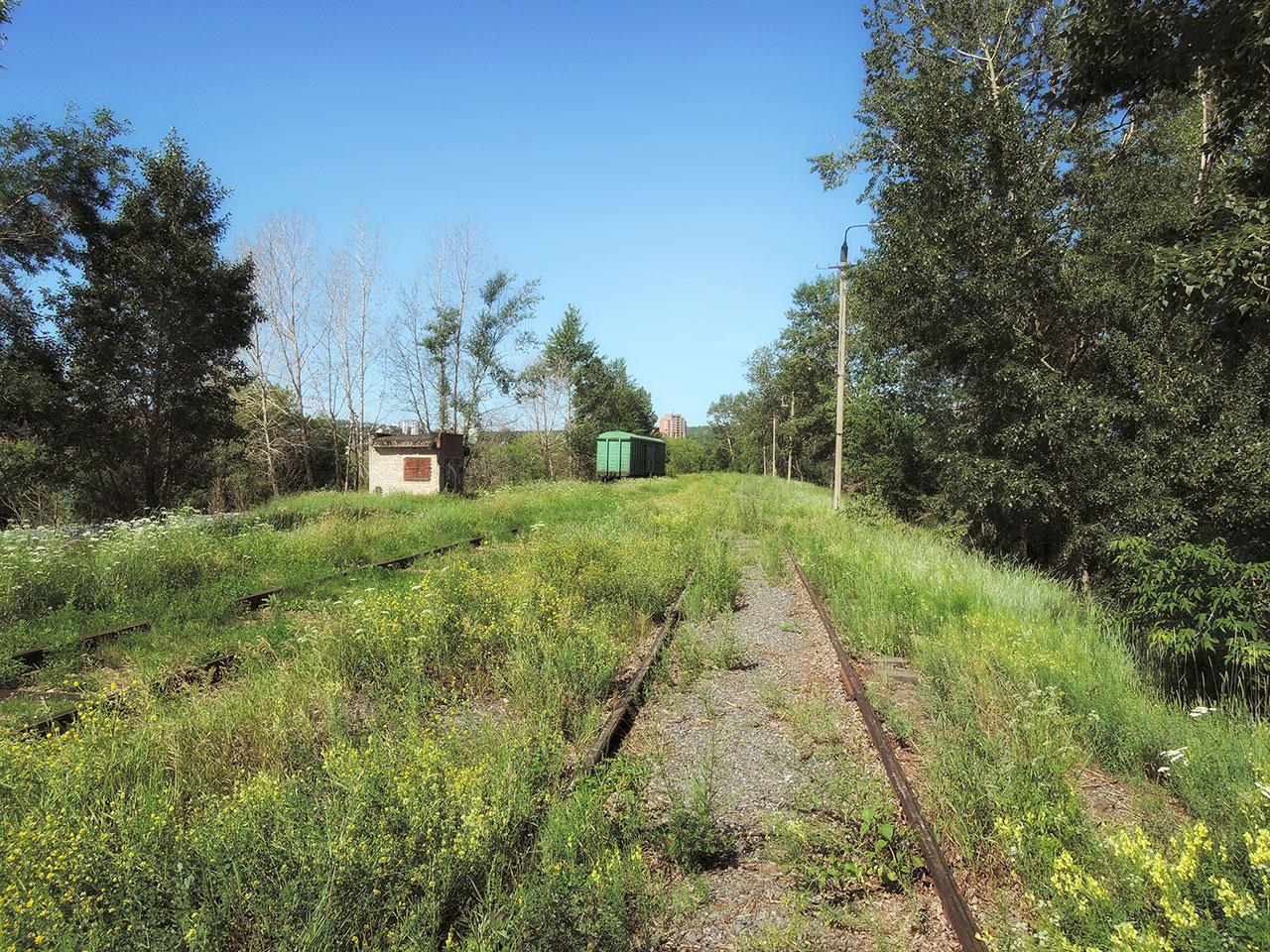 Станция - вид на запад