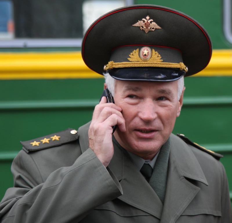 Генерал-полковник Виктор Михайлович Барынькин, бывший командир 108-й мотострелковой Невельской дважды Краснознамённой дивизии.