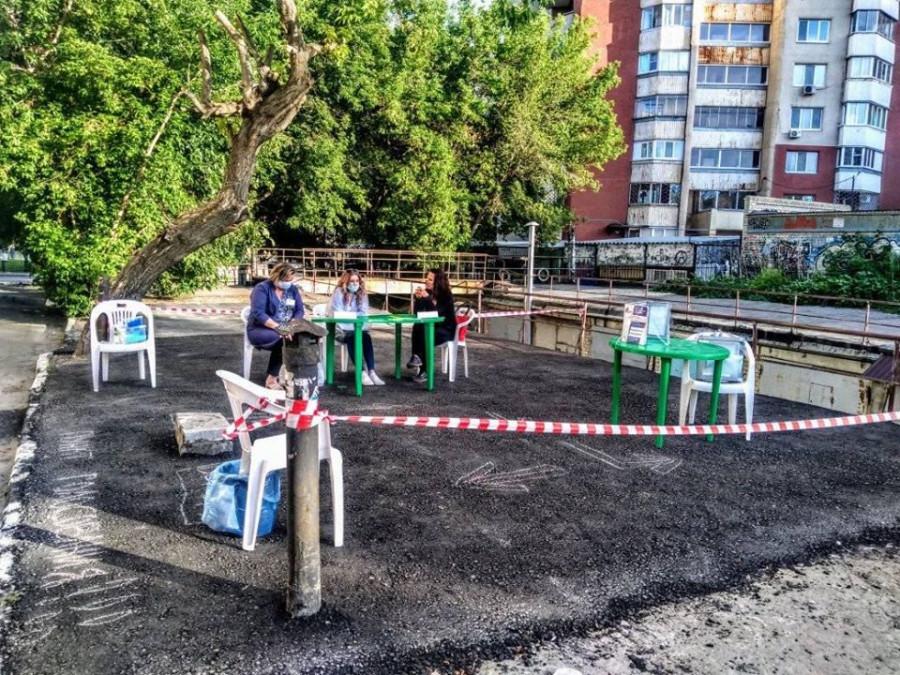 Задействованы дворы и крыши гаражей. В Саратовской области открылись уличные 105970847_911732149306141_2327196326878409647_o