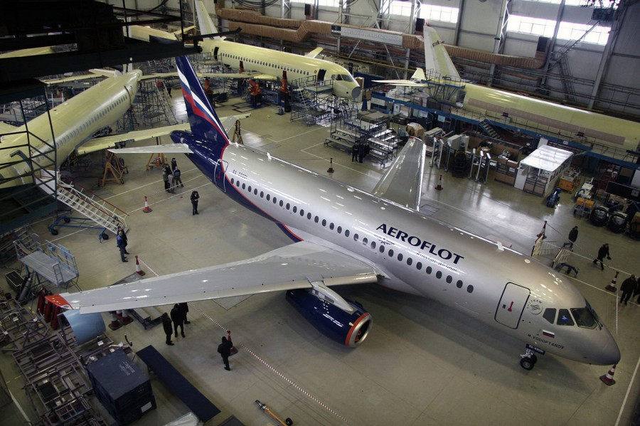 SSJ100_in_Aeroflot_Livery_(5348651735)