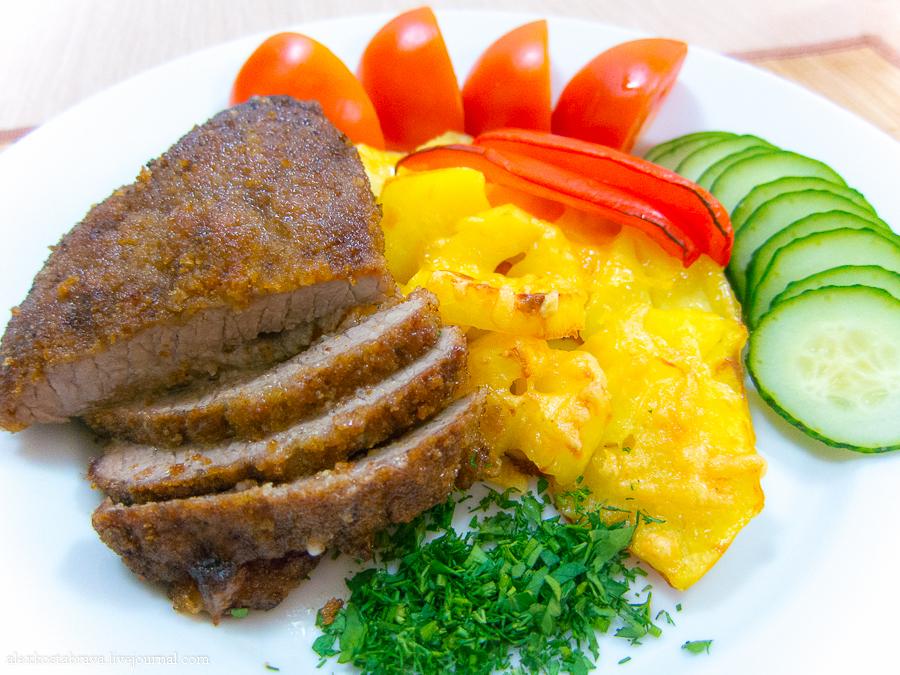 Ромштекс из говядины рецепт с фото бобтейл