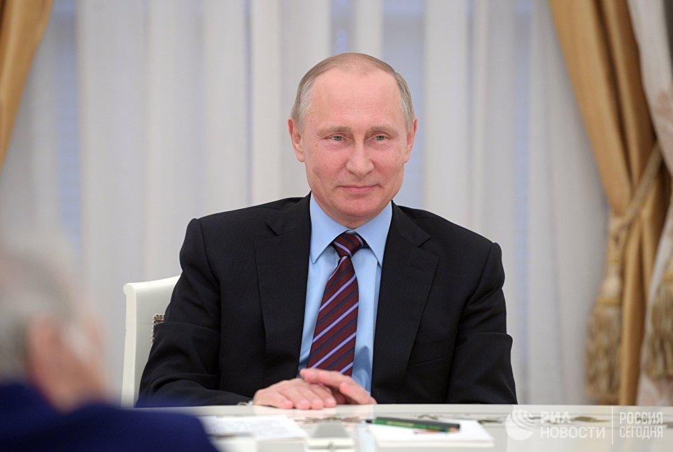 Президент РФ на ПМЭФ: Владимир Путин высказался о будущем США и России