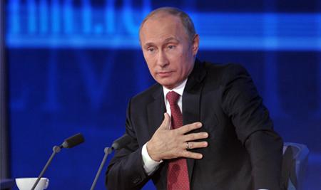 пресс конференция путина