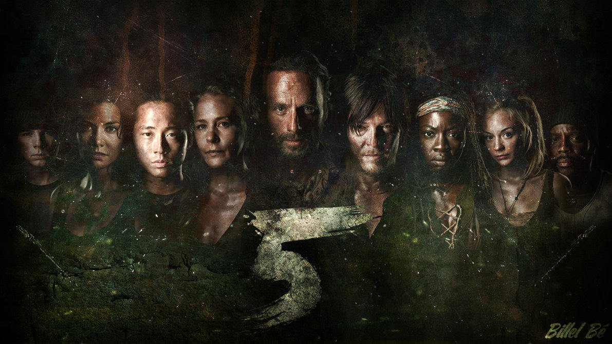 the_walking_dead_season_5___fan_made_cover_by_billelbe-d7tost4