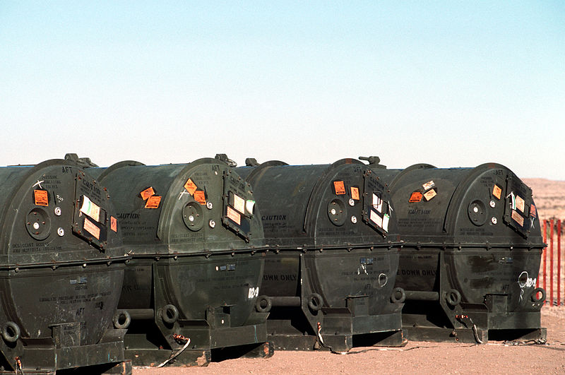 800px-Pershing_II_missile_containers_before_destruction