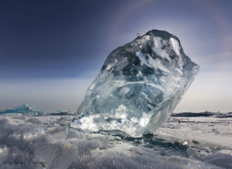 Некоторые формы байкальского льда