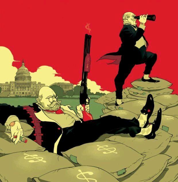война богачей