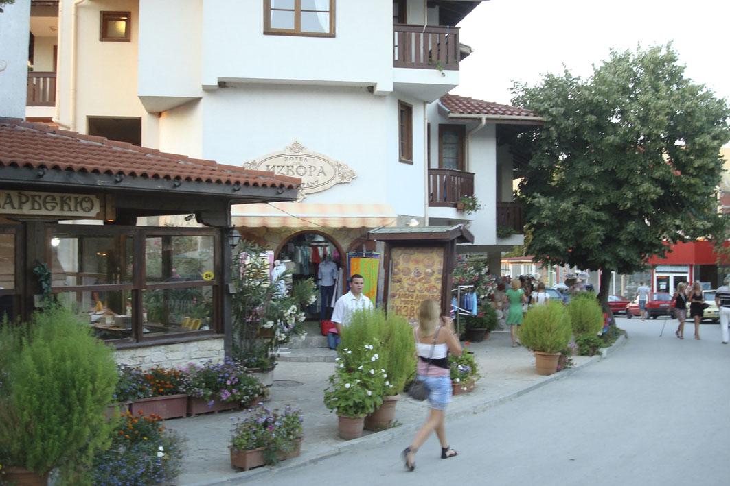 улочка около отеля