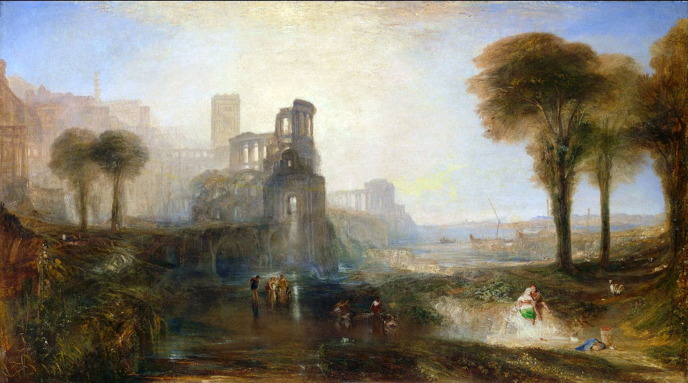 Joseph Mallord William Turner - Caligula's Palace and Bridge